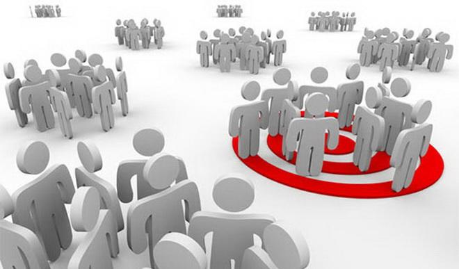 đối tượng người dùng khi thiết kế website