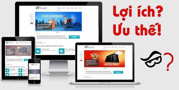 những ưu điểm của việc sở hữu website của doanh nghiệp