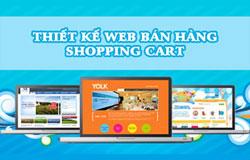 Thiết kế web bán hàng, shopping