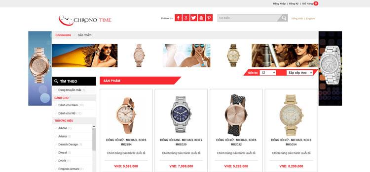 Chronotime.com.vn - Công Ty TNHH Chronosoft Đông Dương