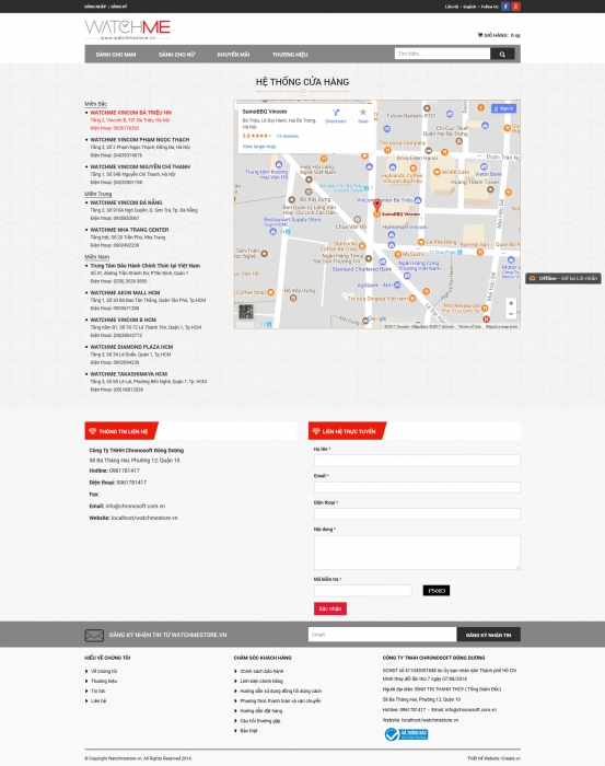 Chronotime.com.vn - Công Ty TNHH Chronosoft Đông Dương - 5