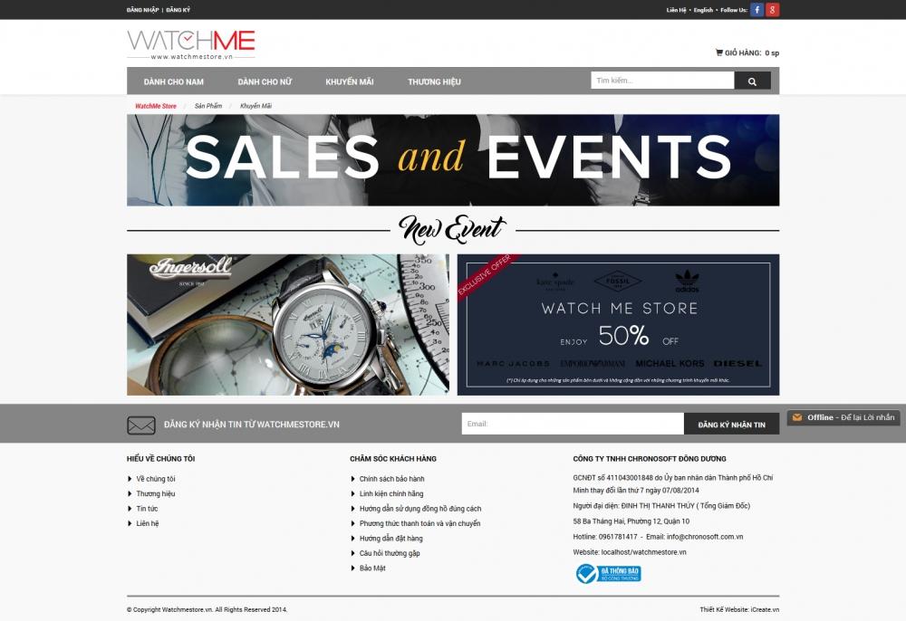 Chronotime.com.vn - Công Ty TNHH Chronosoft Đông Dương - 6