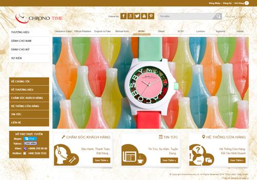 Chronotime - Hệ thống cửa hàng bán lẻ đồng hồ thời trang