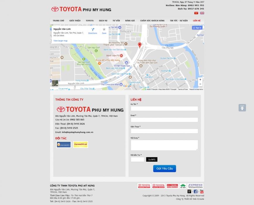 Địa Lý Toyota Phú Mỹ Hưng - 5