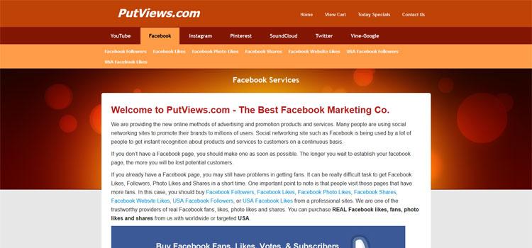 To increase your social presences. || PutViews