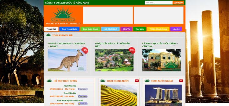 Kết quả hình ảnh cho thiết kế website du lịch quốc tế