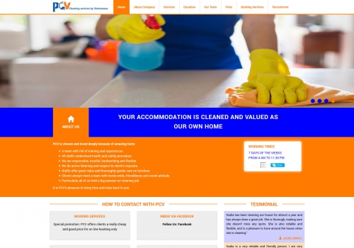 PCV CLEANING SERVICES