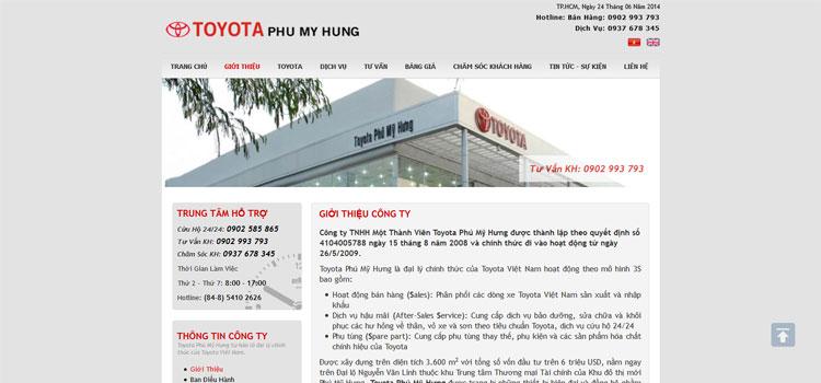 Toyota Phú Mỹ Hưng - Version 1 - 2