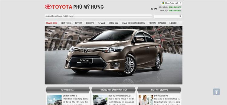 Địa Lý Toyota Phú Mỹ Hưng