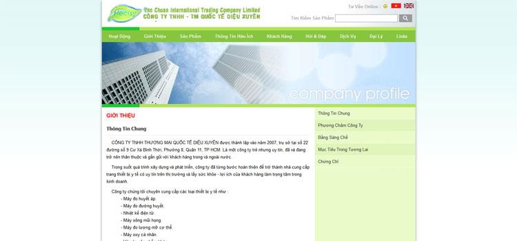 Healsy.vn - Công Ty TNHH Thương Mại Quốc Tế DIỆU XUYÊN
