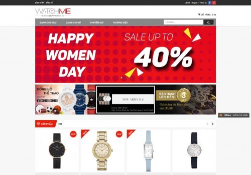 Hệ thống cửa hàng bán lẻ đồng hồ Watch Me
