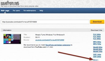 Hướng dẫn download nhanh Video từ Youtube