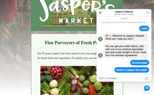 Chèn Facebook Messenger vào website thuận tiện chăm sóc & tư vấn khách hàng