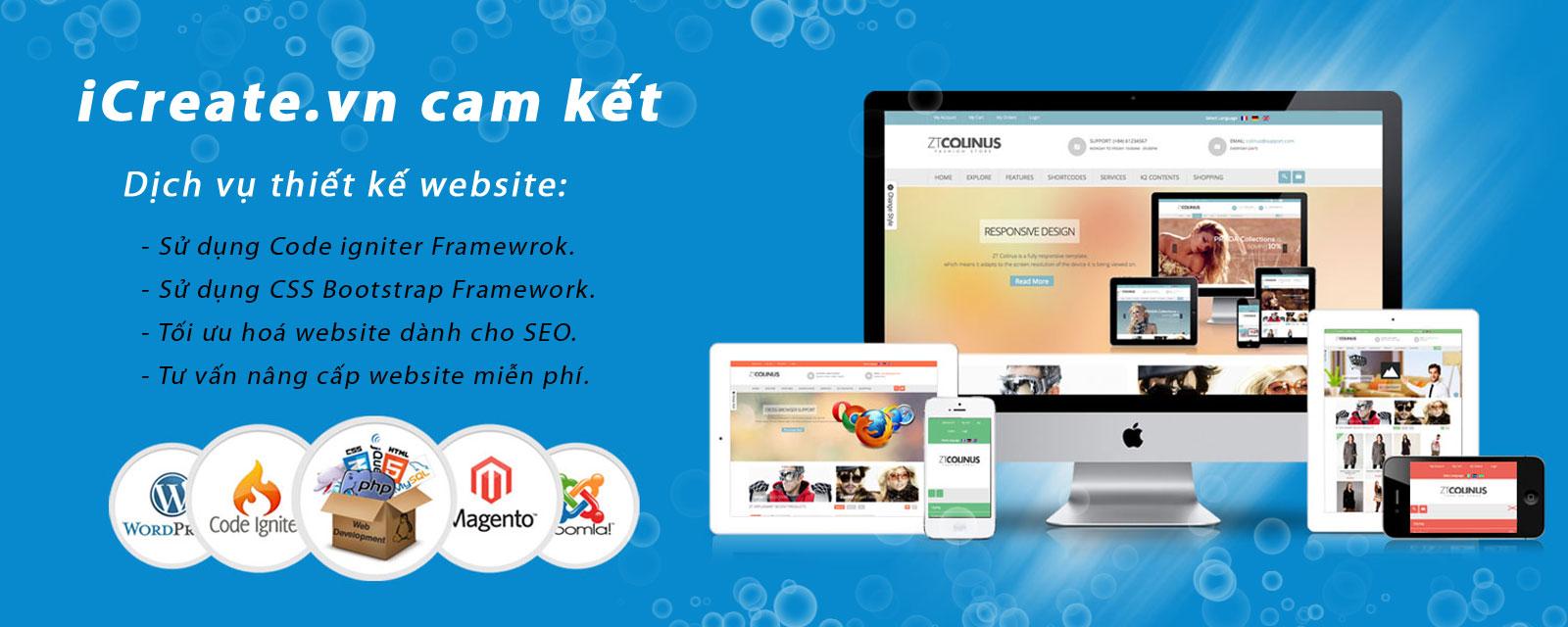 Ưu thế khi thiết kế website tại iCreate.vn