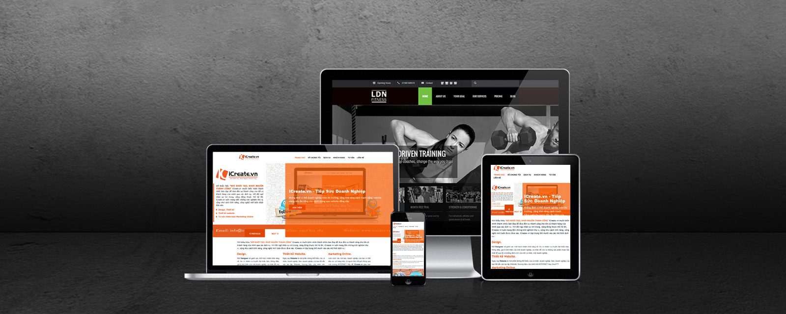 Thiết kế website tuỳ ứng, Reponsive